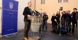 11.02.2016., Zagreb - Ministar kulture Zlatko Hasanbegovic dao je izjavu vezanu na optuzbe koje se iznose u medijima. Photo: Patrik Macek/PIXSELL