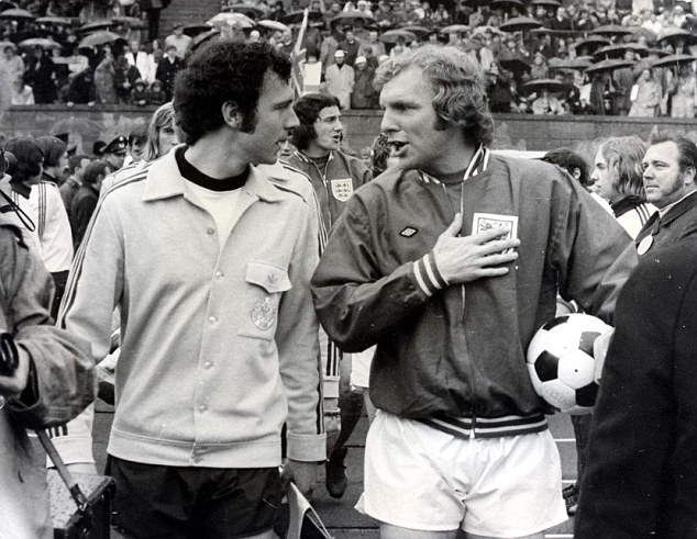 Beckenbauer i Bobby Moore