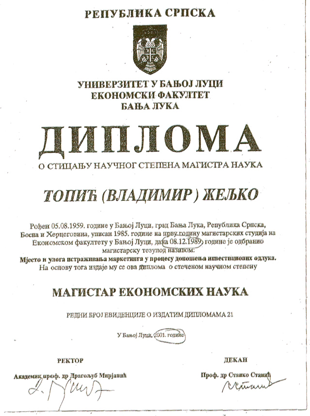 Topic-diploma