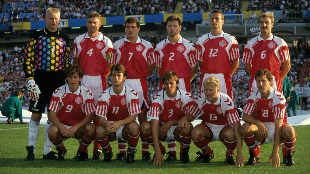 Сборная-Дании-на-Евро-1992