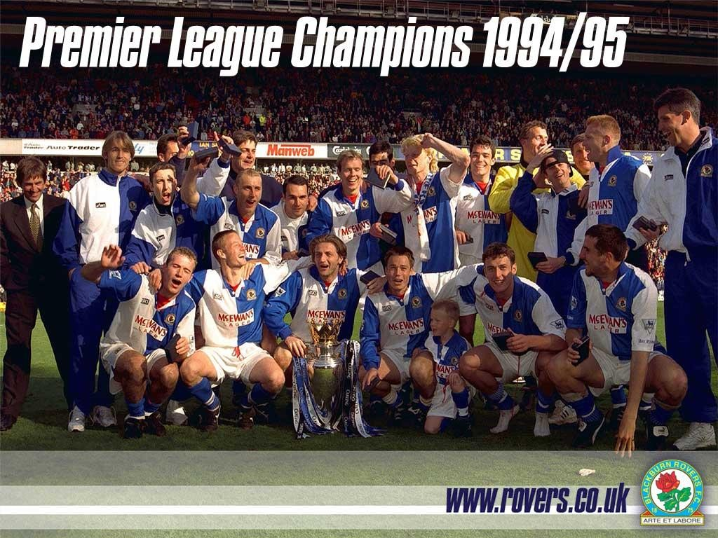 Blackburn Rovers 1995.