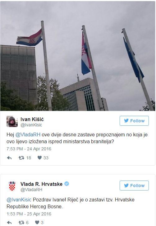 Jeste Li Zamijetili Zastava Herceg Bosne Vijori Se Ispred