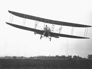 Wright_Model_H_front_view_in_flight_Simms_Station_near_Dayton_Ohio_1914_10486_A.S.