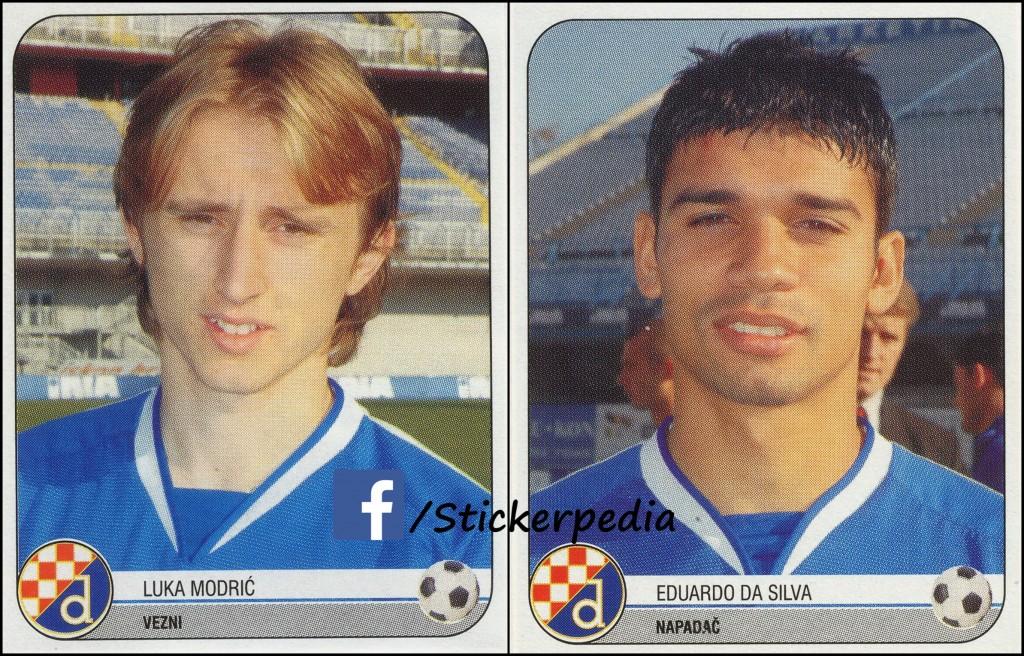 Luka Modric i eduardo da silva dinamo 05-06