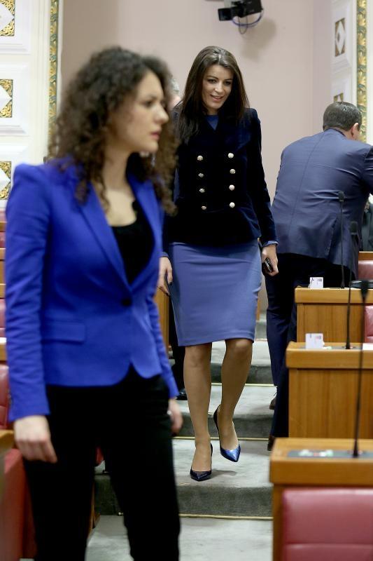 28.12.2015., Zagreb - Konstituirajuca sjednica osmog saziva Sabora. Josipa Rimac. Photo: Patrik Macek/PIXSELL