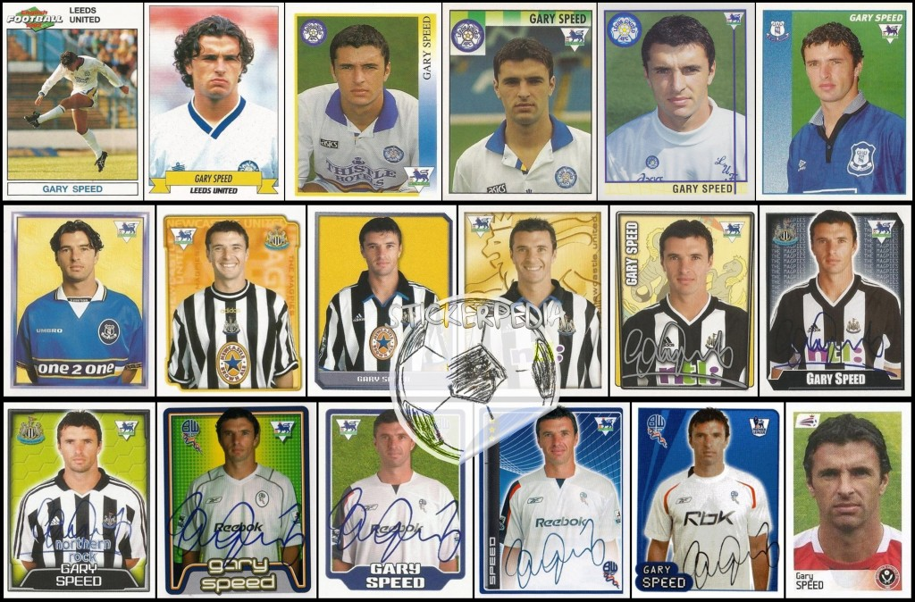 Gary Speed all stickers
