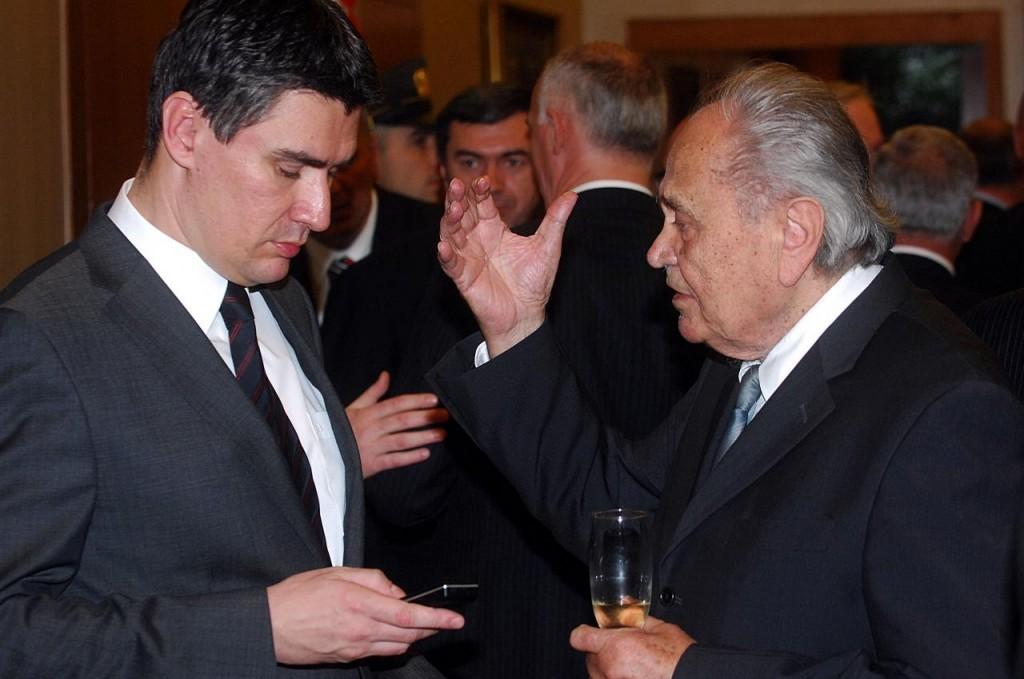 Zoran Milanovic i Josip Manolic