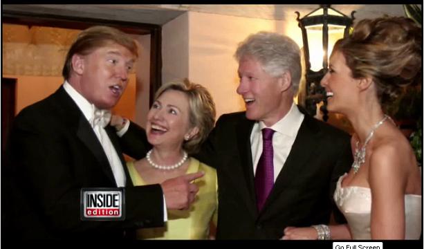 screenshot youtube - vjenčanje Donalda i Melanie Trump.