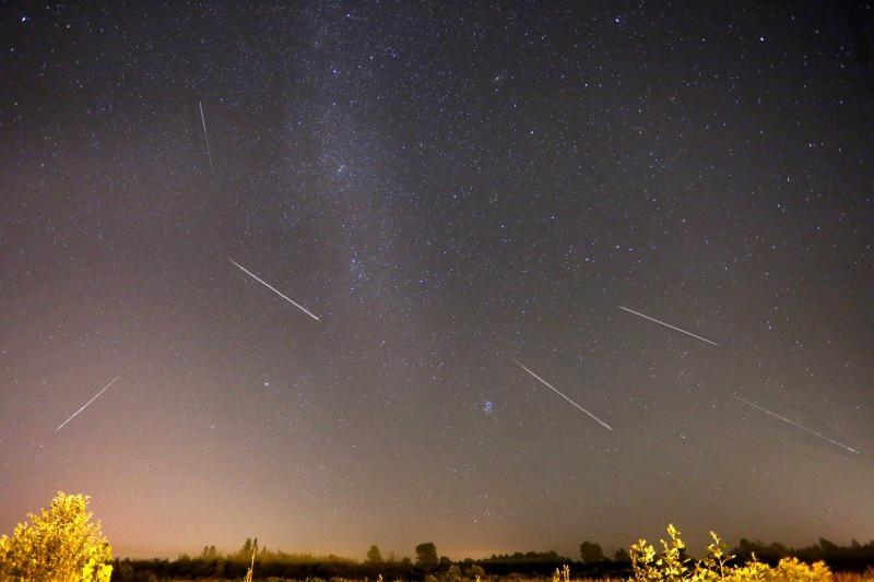 12.08.2016., Zagreb - Perzeidi su meteorski roj kojemu je radijant u zvijezdjuu Perzeju, a zapaza se od 25. srpnja do 20. kolovoza, s najvecom ucestaloscu 12. kolovoza. U narodu je poznat po nazivu Suze svetog Lovre. Photo: Borna Filic/PIXSELL