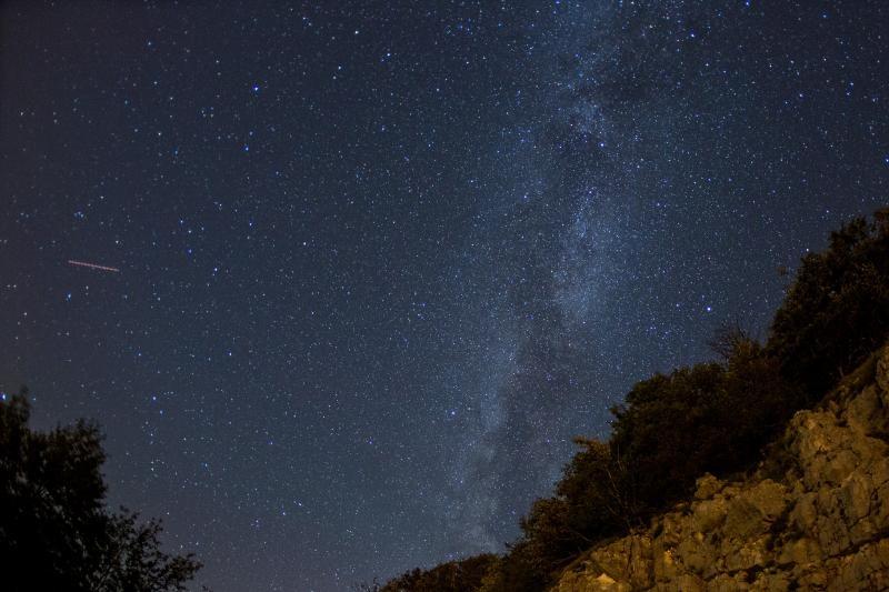 12.08.2016., Ucka - Perzeidi, poznati i kao Suze svetog Lovre su jedan od najljepsih i najaktivnijih pljuskova meteora tijekom godine. Na nebu se mogu vidjeti vec ovih noci, a vrhunac aktivnosti ocekuje se u noci izmedu 12. i 13. kolovoza. Photo: Nel Pavletic/PIXSELL