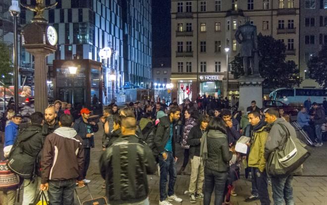 wikipedia - izbjeglice u Švedskoj