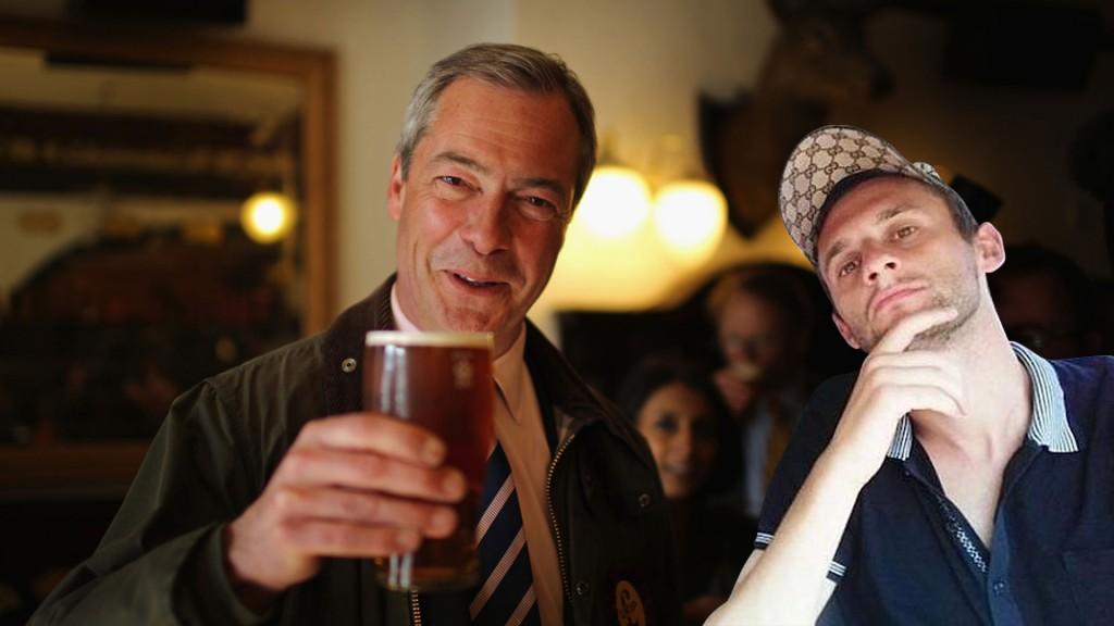 #EpicBrozo s euroskeptičarom vođom UKIP stranke Nigelom Farageom