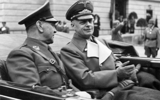 Joachim von Ribbentrop und Ante Pavelic