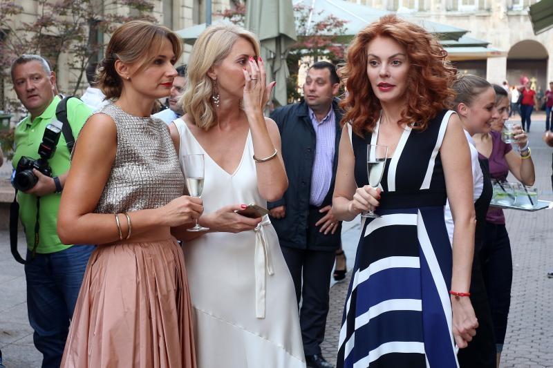06.09.2016., Zagreb - U ulici Frana Petrica otvorena je Max Mara trgovina. Ana Karamarko. Photo: Borna Filic/PIXSELL