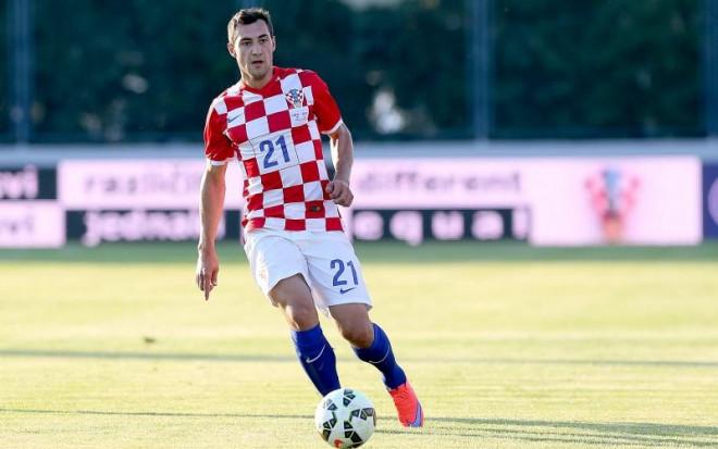 07.06.2015., Varazdin - Prijateljska nogometna utakmica izmedju Hrvatske i Gibraltara. Mato Jajalo.  Photo: Goran Stanzl/PIXSELL
