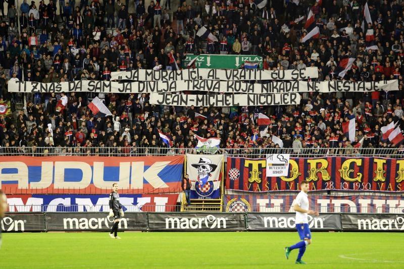 19.11.2016., Gradski stadion Poljud, Split - 16. kolo MAXtv Prve lige, HNK Hajduk Split - NK Lokomotiva Zagreb.  Photo: Miranda Cikotic/PIXSELL