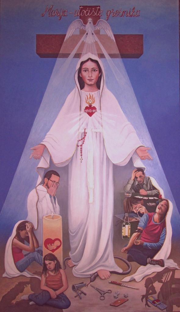 Marija - utočište grešnika