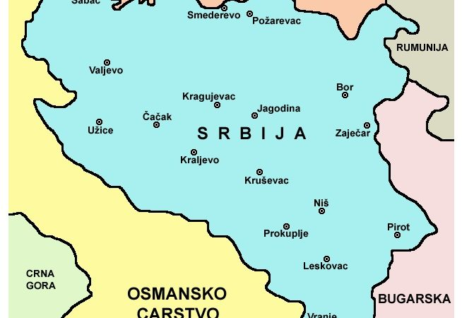 Kosovo Nije Srbija Ovo Je Karta Međunarodno Priznate Srbije Iz
