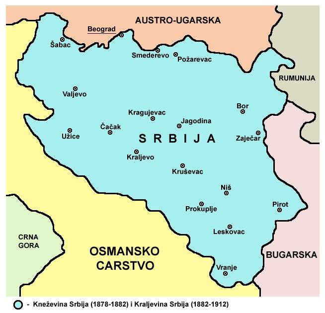 karta srbije 1912 KOSOVO NIJE SRBIJA: OVO JE KARTA MEĐUNARODNO PRIZNATE SRBIJE IZ  karta srbije 1912