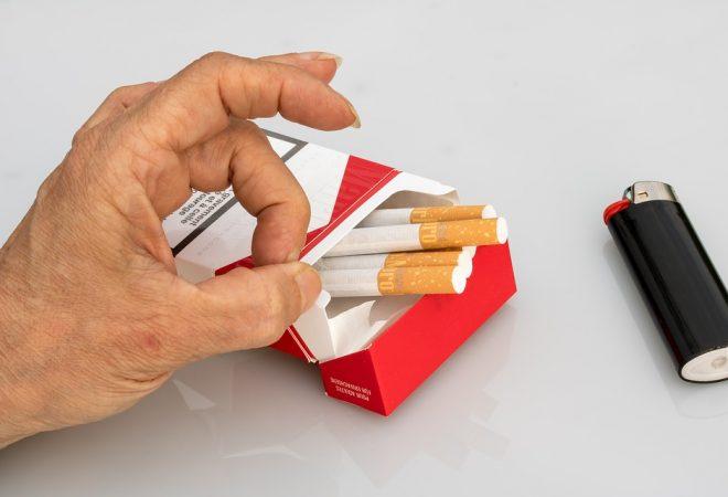 Popušiti