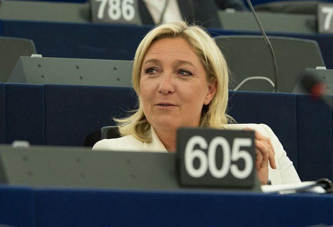 2014-07-01-Europaparlament_Marine_Le_Pen