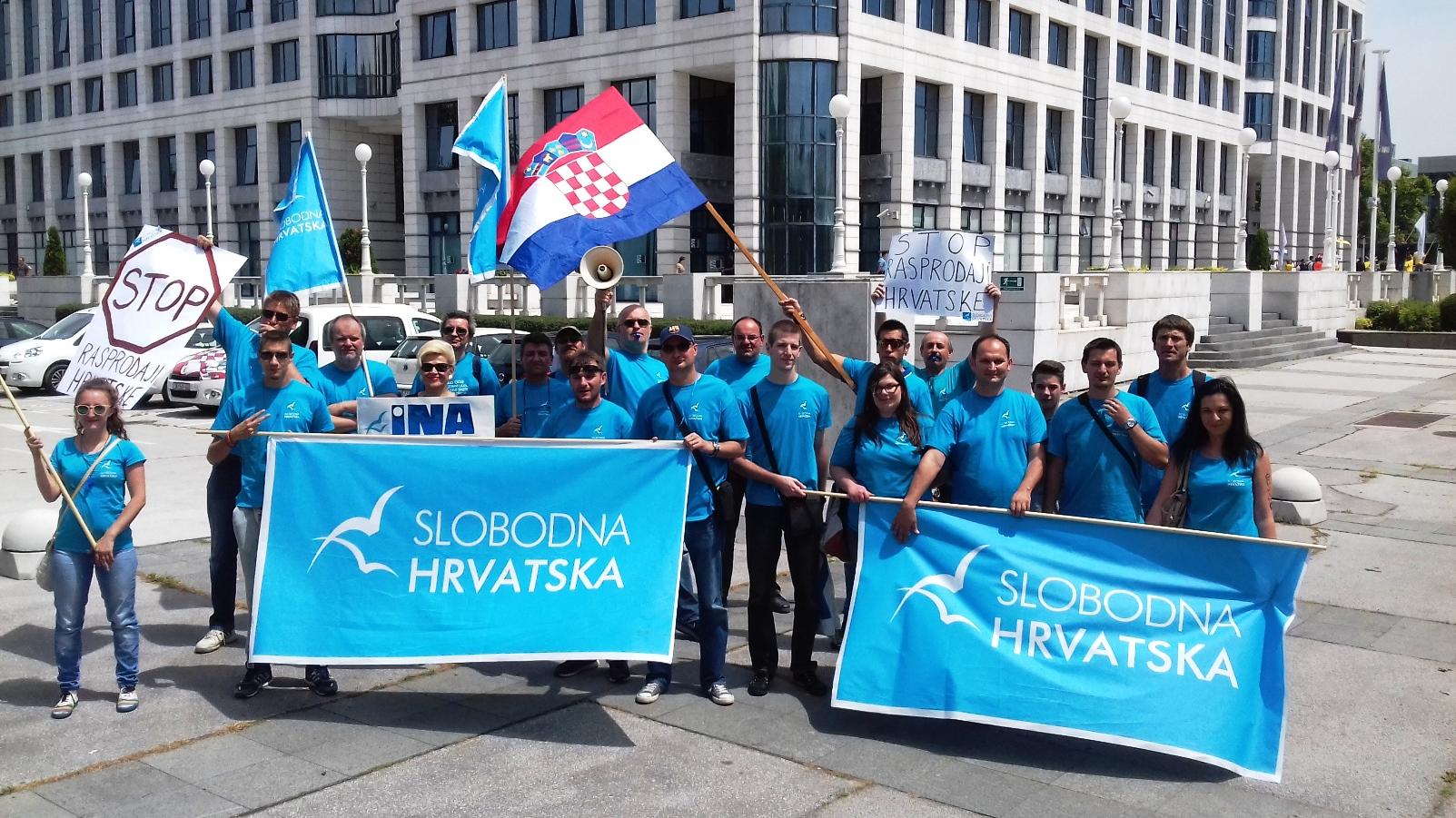 Slobodna Hrvatska podnosi kaznenu prijavu protiv direktora Hrvatskih voda