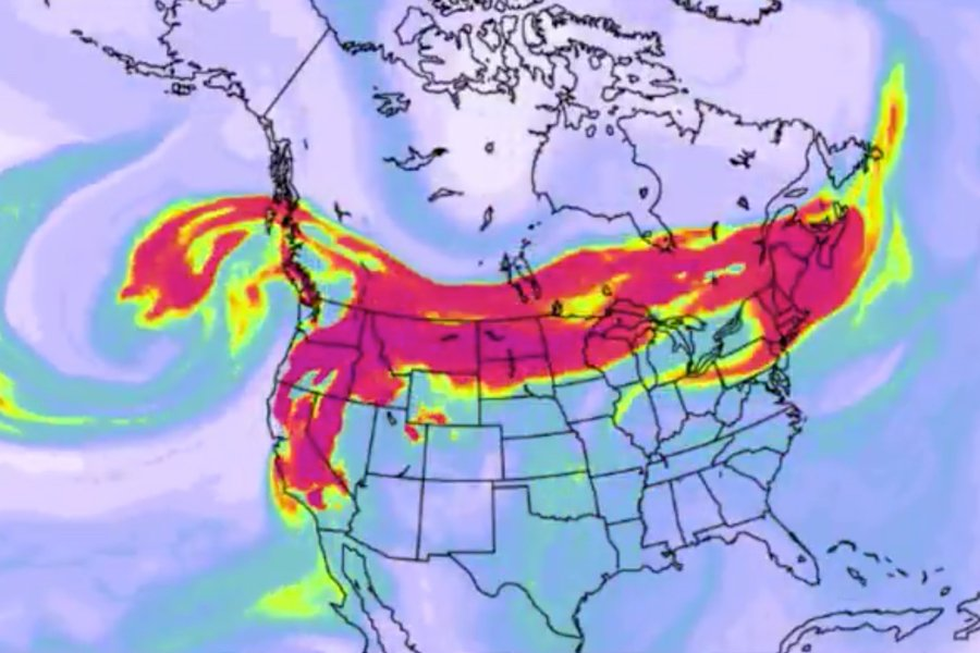 Dim požara s američkog zapada stigao na istočnu obalu: Zamaglio nebo u New Yorku!
